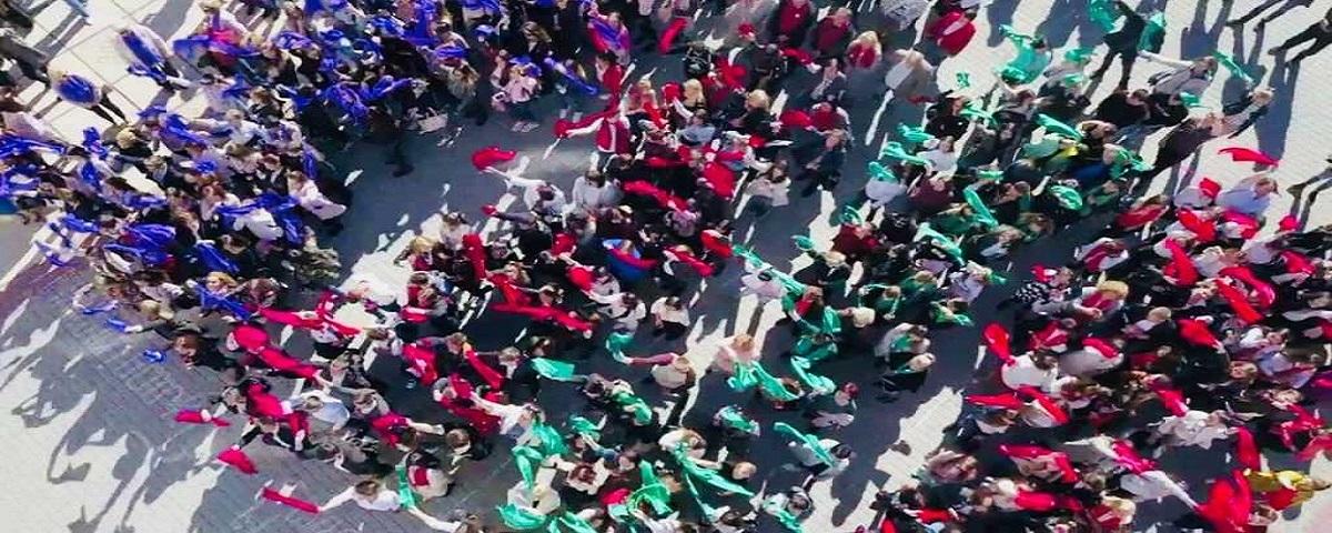 Церемонія посвяти першокурсників у студенти МДУ!