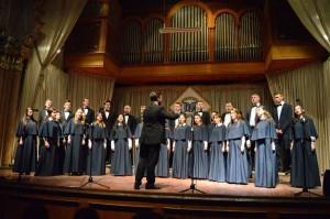 Звітний концерт студентів та викладачів Мукачівського державного університету