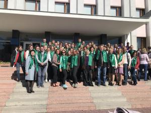 Церемонія посвяти першокурсиників у студенти